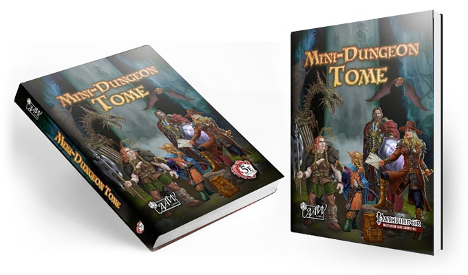 BackIt com - Mini-Dungeon Tome for 5th Edition or Pathfinder RPG