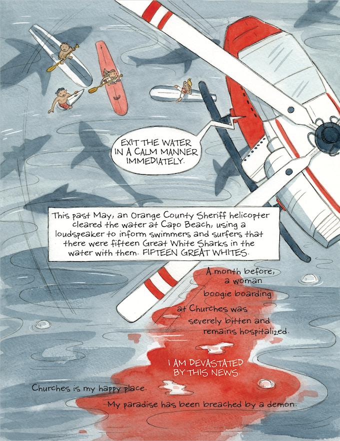 Comic Art by Kim Dwinell