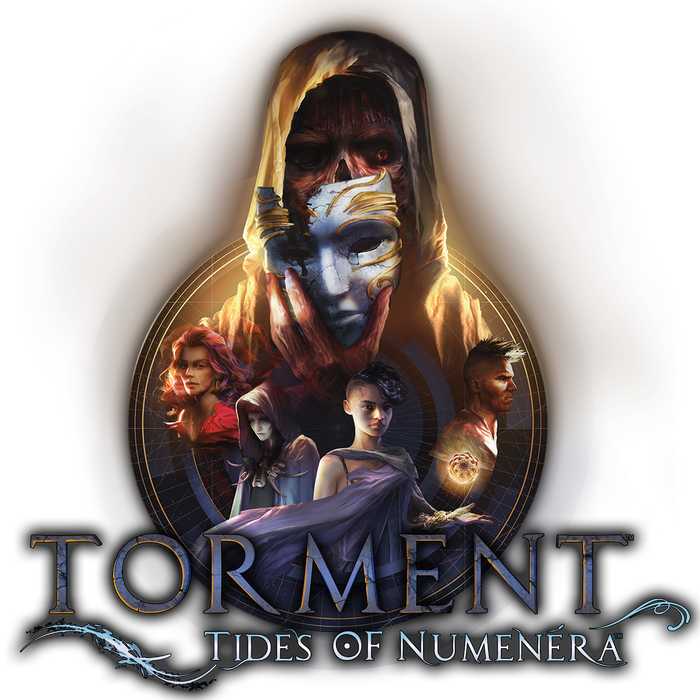 A story-driven CRPG set in the world of Monte Cook's Numenera.  We are deeply appreciative to all of you who made this possible. Torment: Tides of Numenera is available now for PC on Steam or GOG, as well as PlayStation 4 and Xbox One.