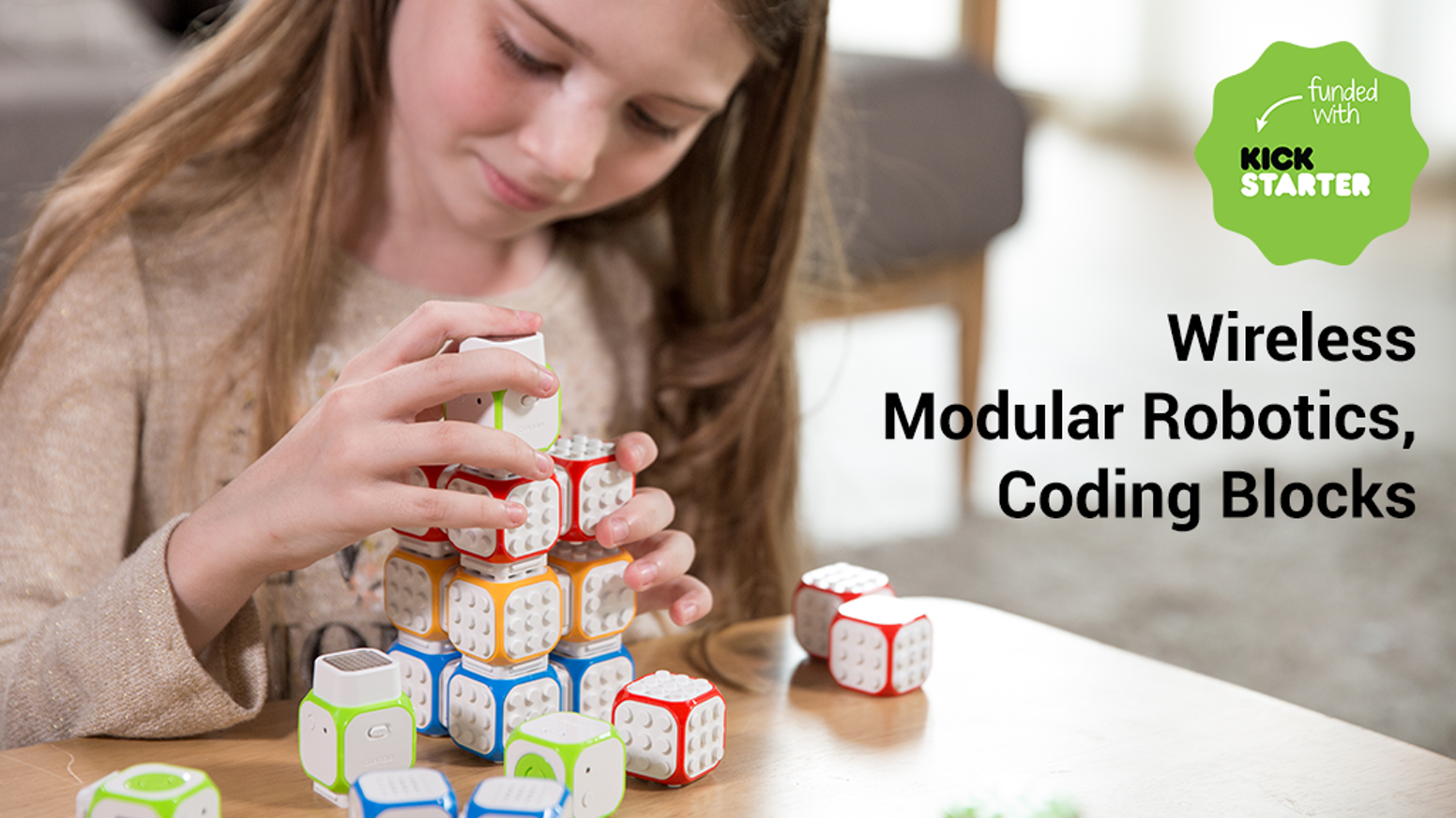 Learn how to program in a new and fun way with Cubroid! Simply build and connect with Lego blocks and bring creations to life! #Robot