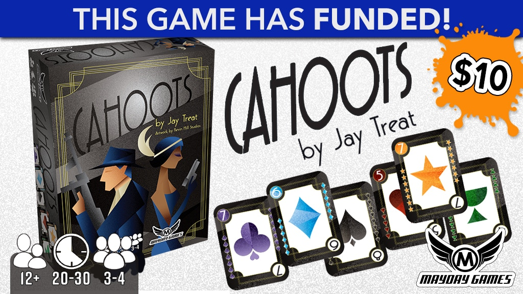 "Cahoots Card Game of ""Co-opetition"" 3-4 Players by Jay Treat project video thumbnail"