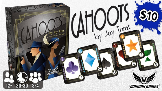 Cahoots Card Game of \