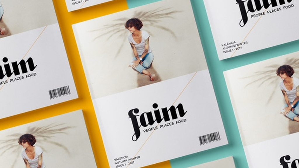 Faim Magazine - Issue 1 project video thumbnail