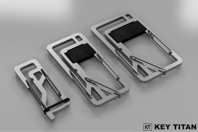 Key Titan 3D Rendering