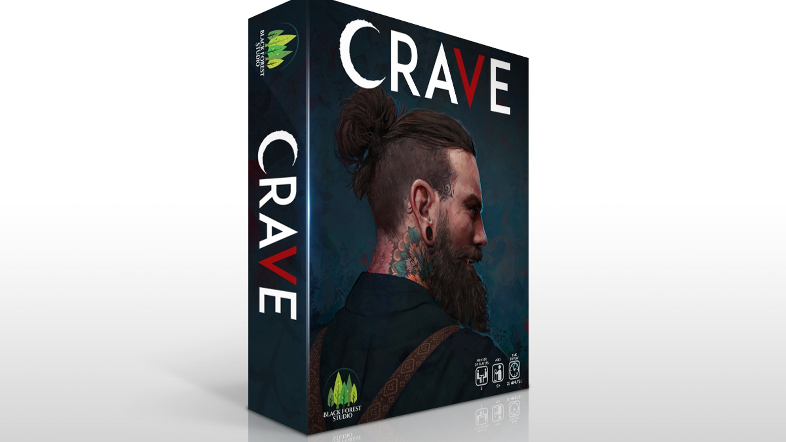 Crave is a dynamic, re-imagined deck builder in a modern fantasy setting, featuring vampires and other enchanted creatures.
