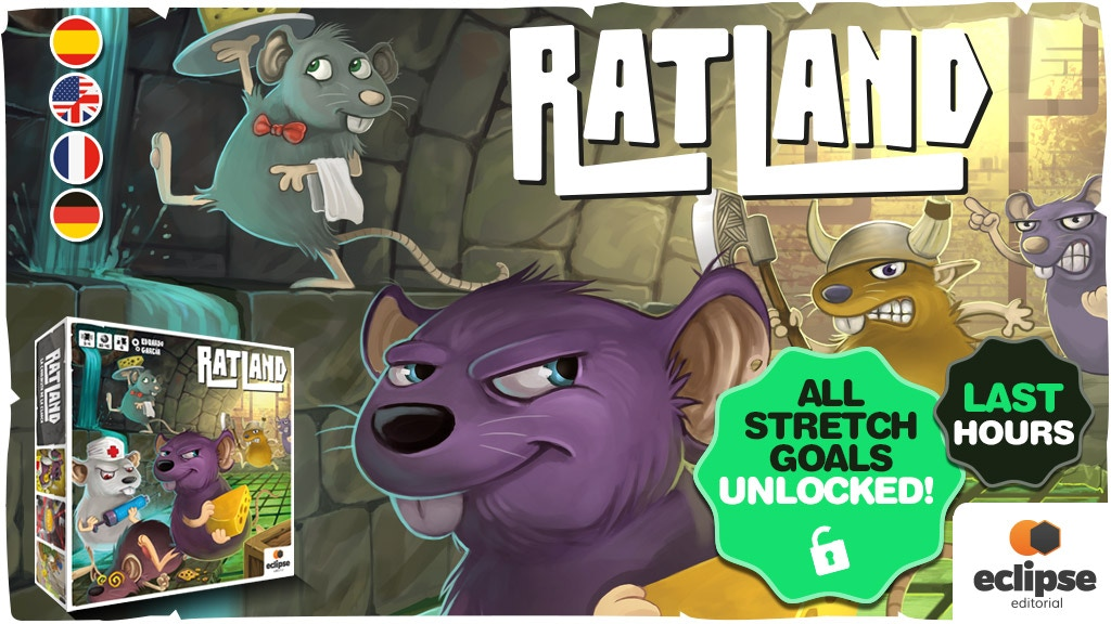 RATLAND: conquest of the sewers! project video thumbnail