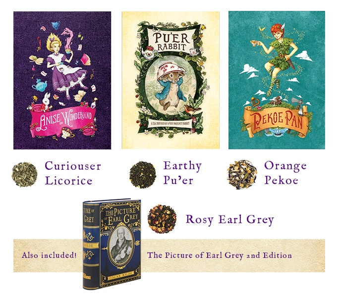 Introducing three new NovelTea Tins titles and 'The Picture of Earl Grey 2nd ed.'