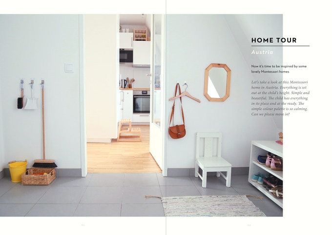 This is a sneak peek into the home tours at the end of the book where you can get inspiration for your own home