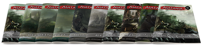The Asatania campaing & adventures, available at the Summoner and Puppet Master level