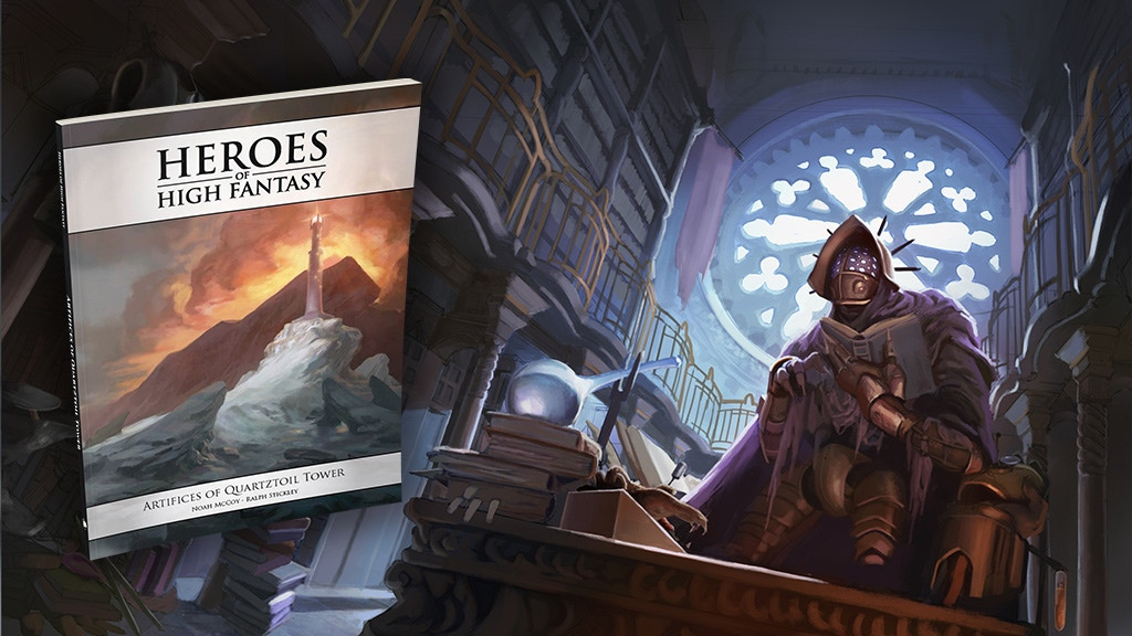Artifices of Quartztoil Tower - 5E Adventure - Only $10! project video thumbnail