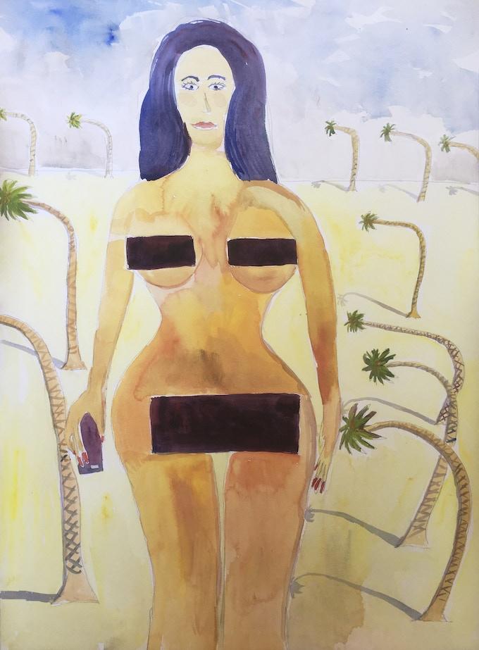 Kim Kardashian-Venus of Willendorf-Irma $200