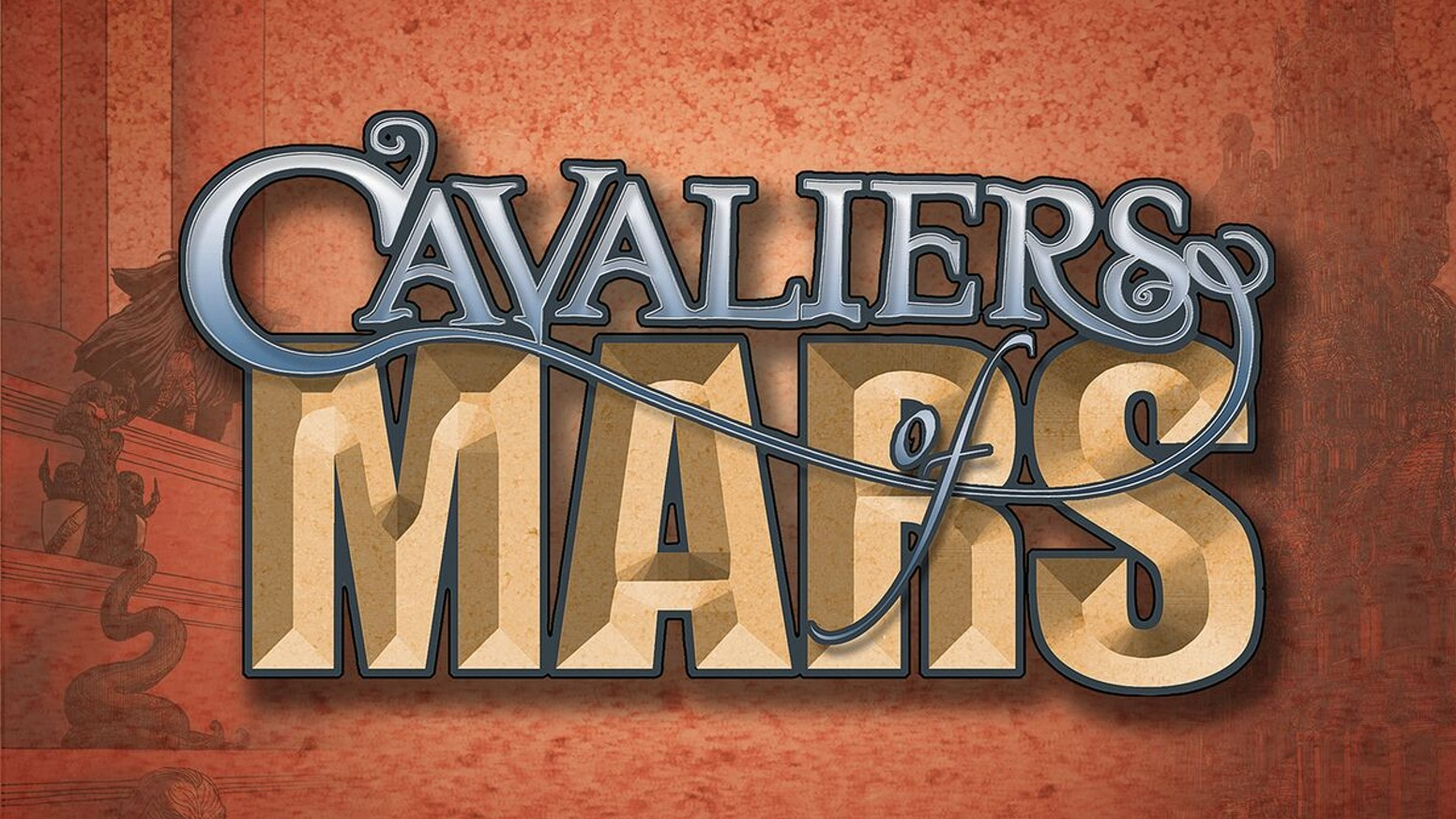 Cavaliers of Mars is now available for purchase!