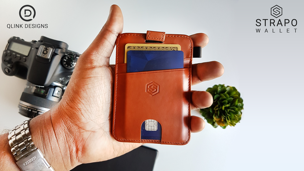58fea760ad8 STRAPO™ Expandable Minimalist Wallet by Qlink Designs — Kickstarter