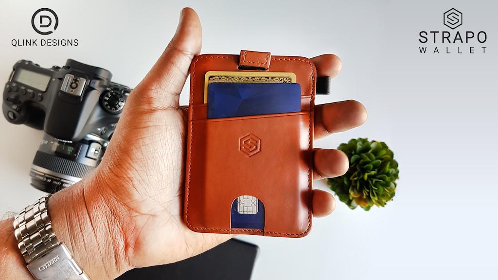 STRAPO™ Expandable Minimalist Wallet project video thumbnail