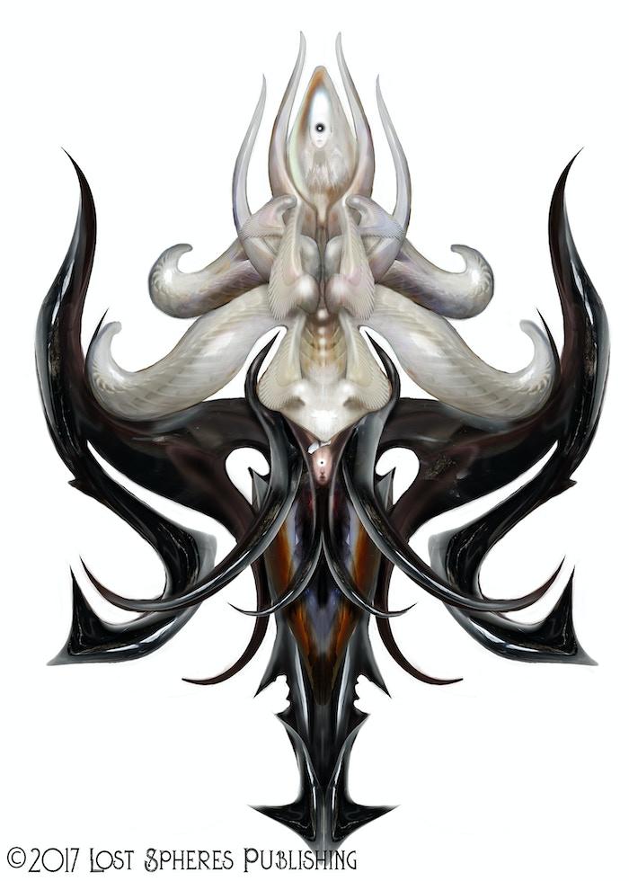 Union of Onyx and Pearl - Artist: Vincent Coviello!