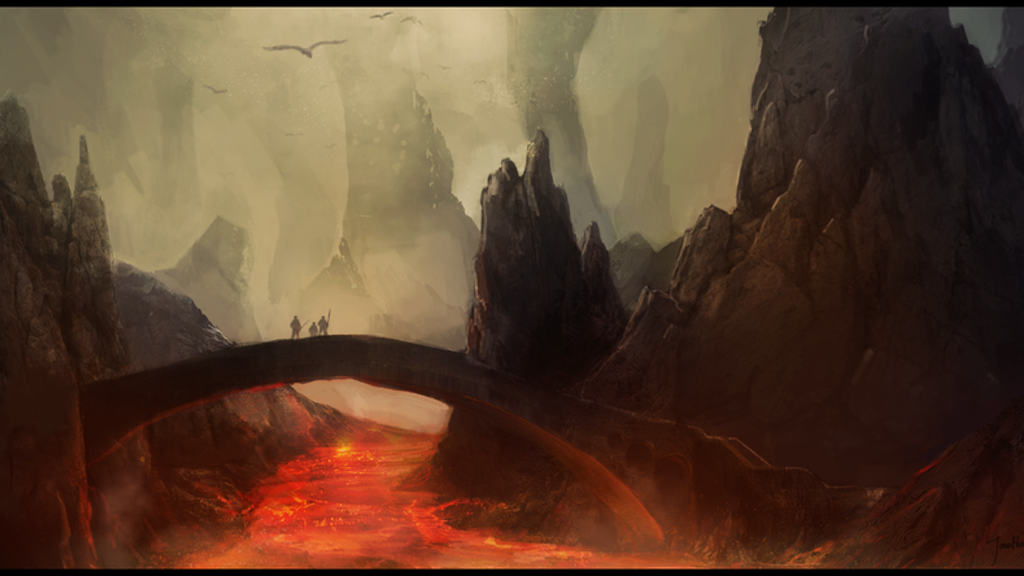 Project image for The creation of Farun's Labyrinth art, a D&D adventure