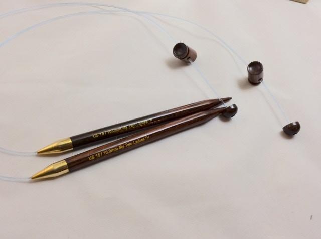 Adjustable Straight Knitting Needle System