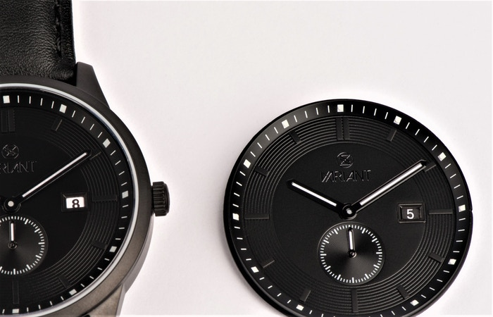 Inverted Date Dial