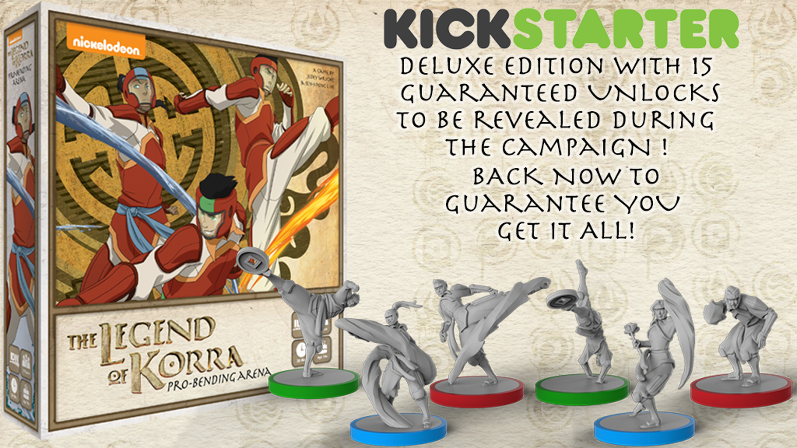 The Legend Of Korra Pro Bending Arena By Idw Games Kickstarter