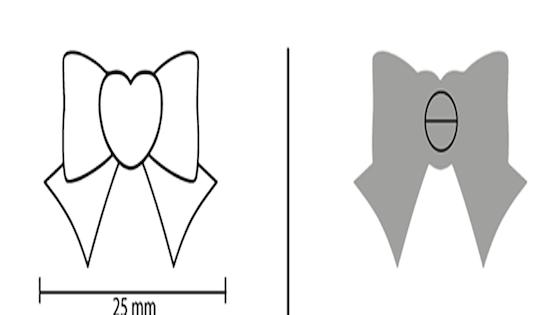 Sailor Guardian Planetary Bow Enamel Pins