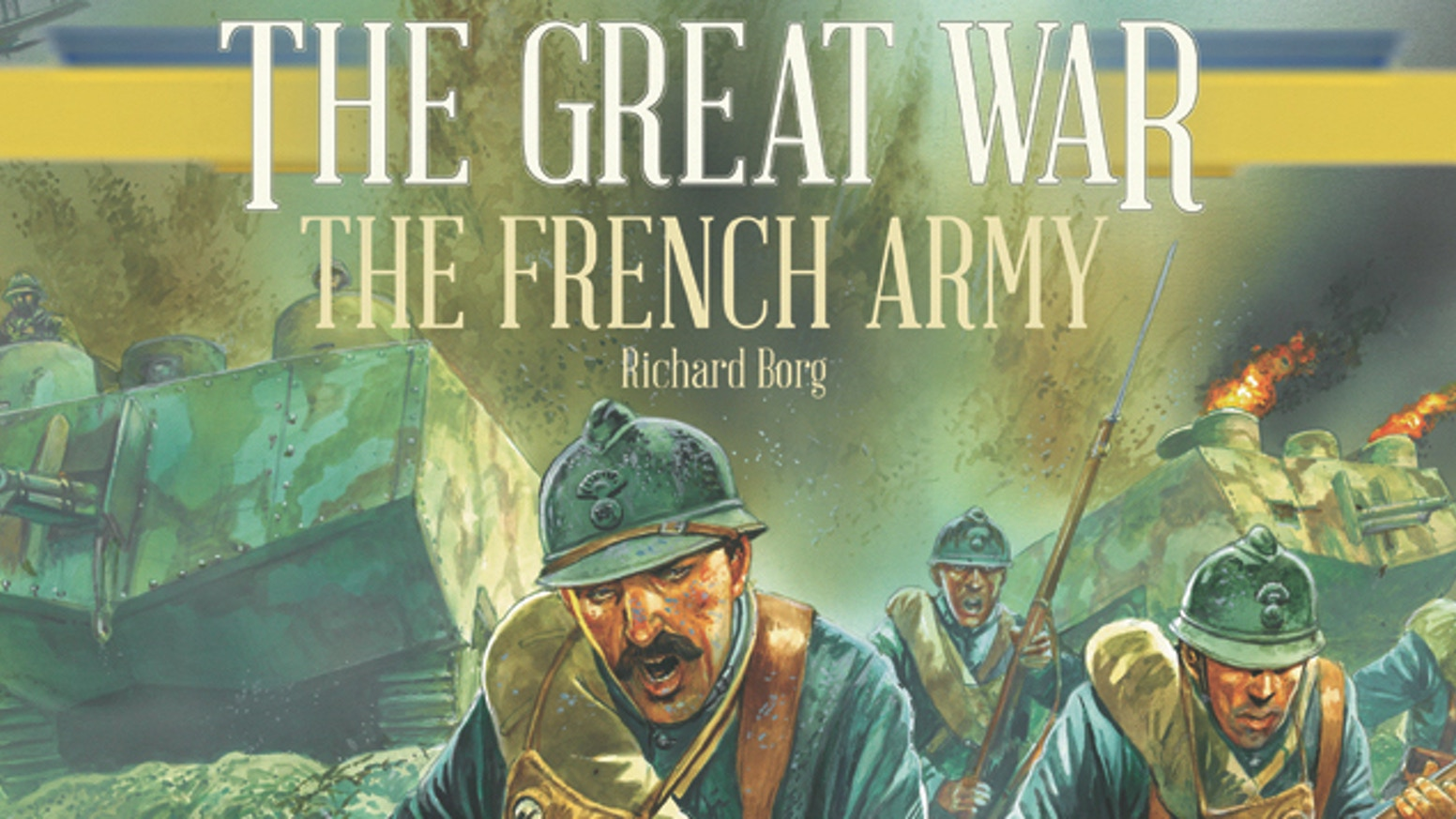 A French Army expansion for Richard Borg's The Great War game PLUS the reissued core game, in English, French and Spanish versions