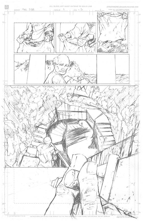 Page 3 Original Art - £150 Pledge level