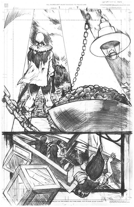 Page 7 Original Art - £150 Pledge level