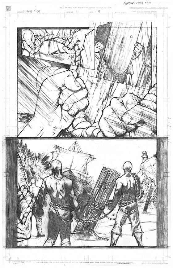 Page 11 Original Art - £150 Pledge level