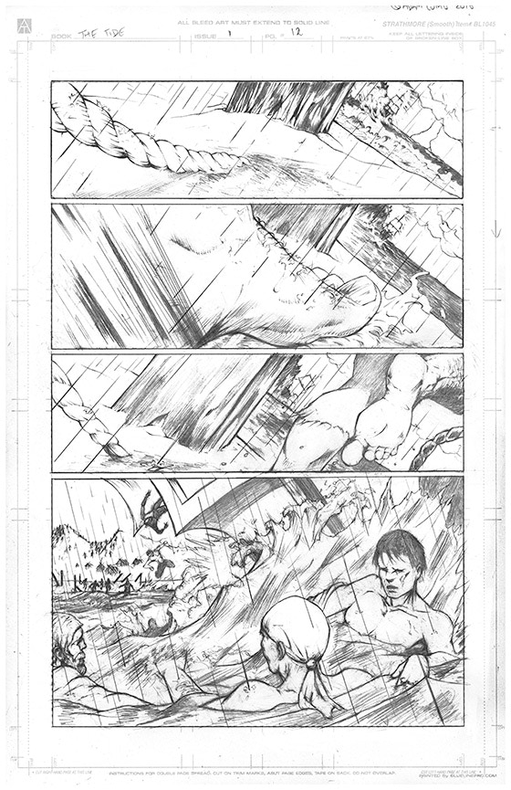 Page 12 Original Art - £150 Pledge level