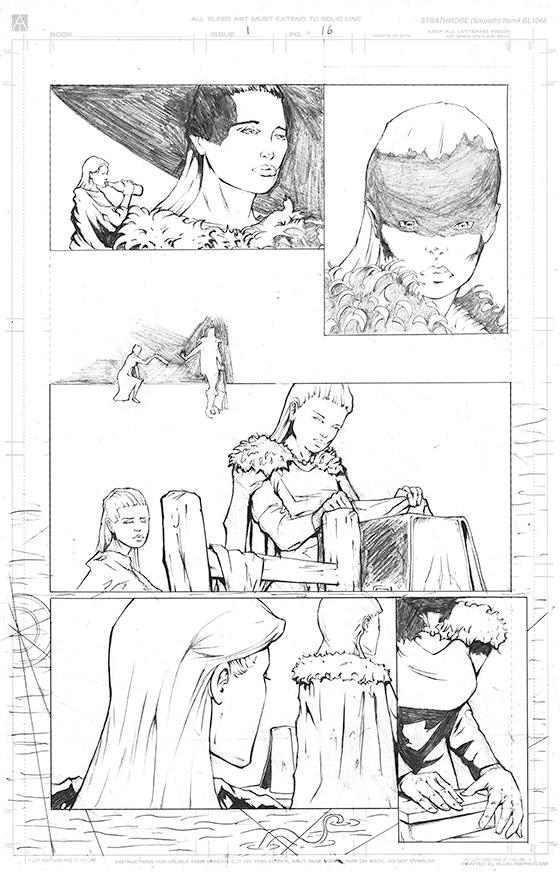 Page 16 Original Art - £150 Pledge level