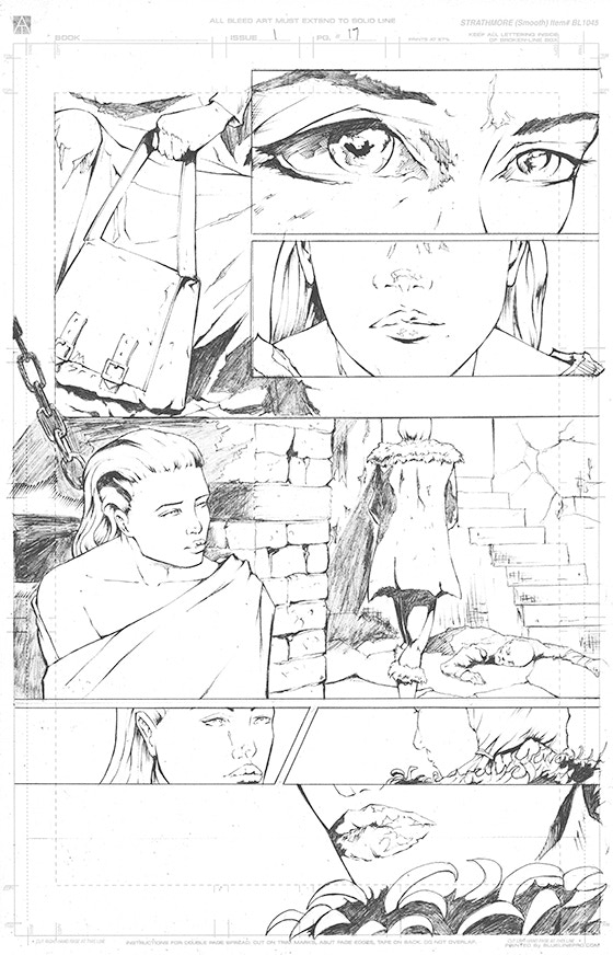 Page 17 Original Art - £150 Pledge level