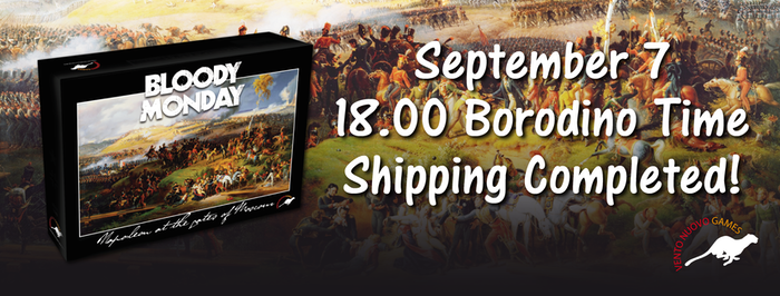 The Battle of Borodino, Sept. 7, 1812 was the single bloodiest battle of the Napoleonic Wars. Now you can game it in under three hours.