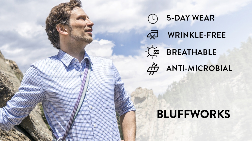 The Ultimate Travel Shirt by Bluffworks project video thumbnail