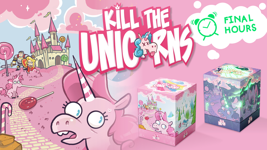 Kill the Unicorns - An Enchanted Card Game For Evil Geniuses project video thumbnail
