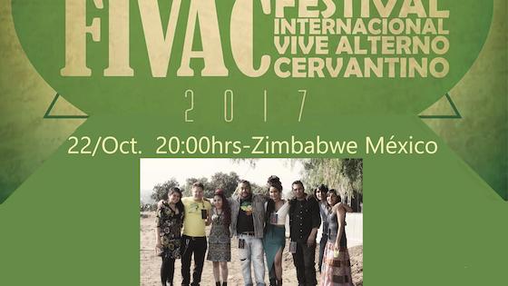 Presentación de Zimbabwe México en el Cervantino