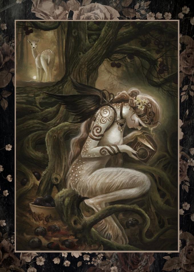 'FLIDIAS' Signed Art Print