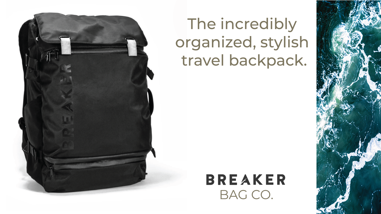 Giving the world a comfortable, organized, and well designed travel backpack to create the best experience for you and your stuff.