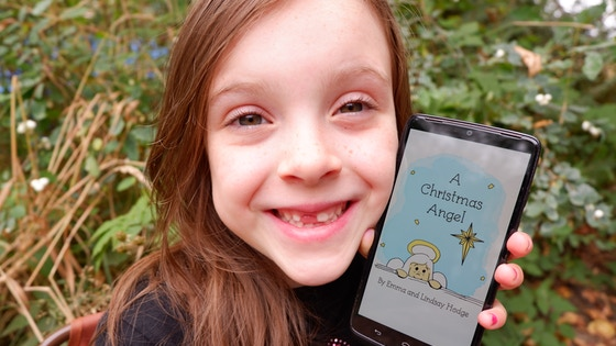 A Christmas Angel: The Board Book