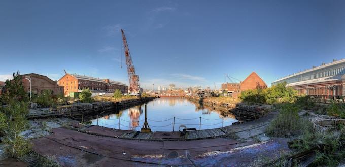 Brooklyn Navy Yard. Photo: Alex Fortney/Wikimedia Commons/CC BY-SA 4.0