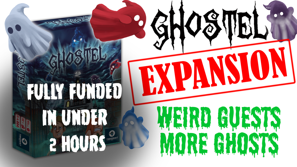 Ghostel: Weird Guests & More Ghosts! project video thumbnail