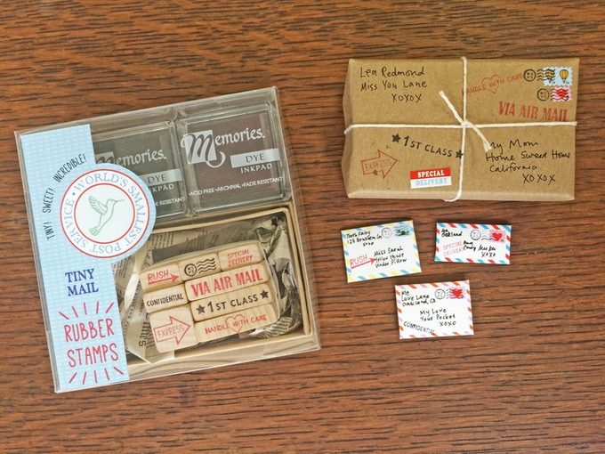The new rubber stamp set!