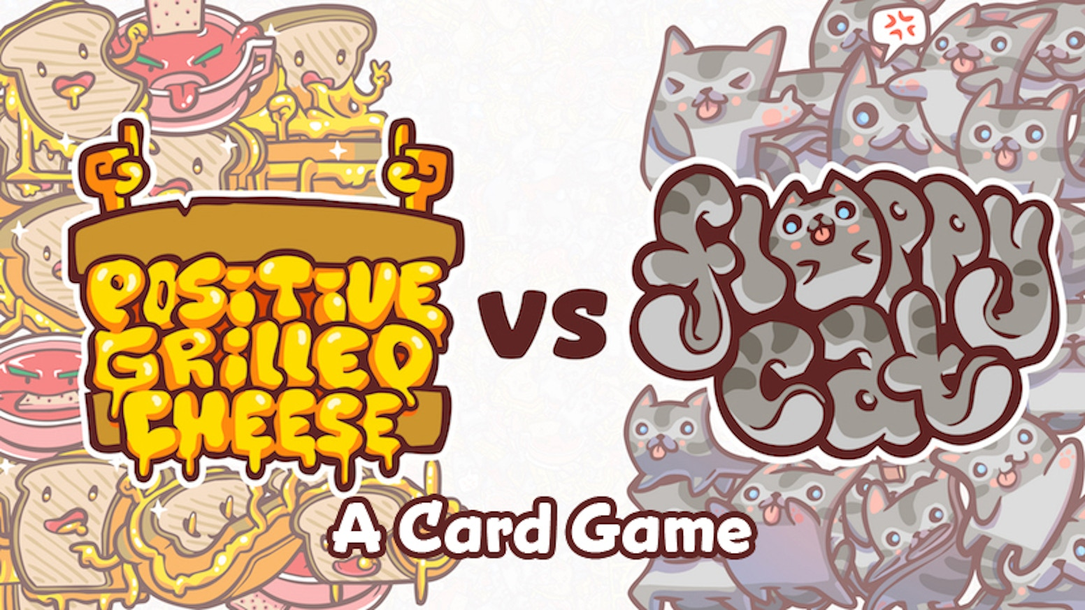 A strategy game you can't stop playing! It's Floppy Cat vs Positive Grilled Cheese.