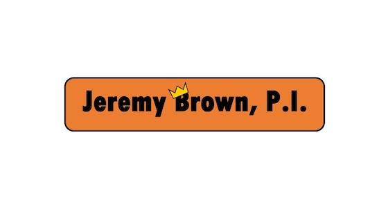 Jeremy Brown, P.I. (Children's E-book Needs Illustration)