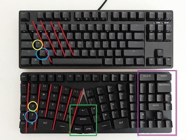 X-Bows Mechanical Ergonomic Keyboard by Chris Fleguel