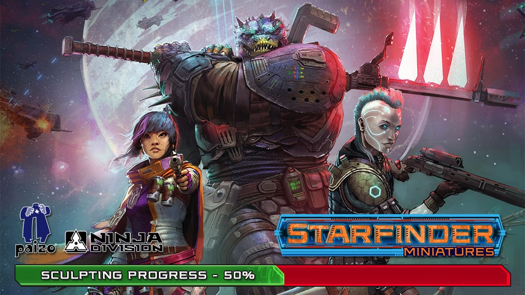Starfinder Masterclass Miniatures project video thumbnail