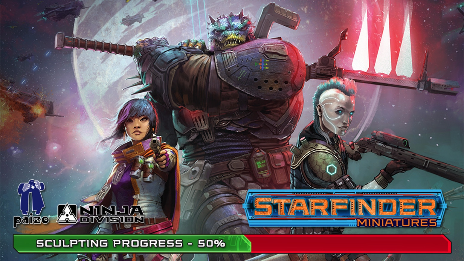 Starfinder Masterclass Miniatures by Ninja Division