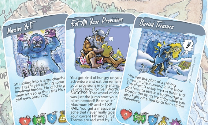 An ice dungeon and the home of a dragon who likes his drinks cold. Beware the mighty FIZZ FANG!