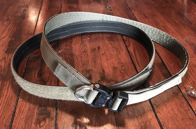 Dual Inner and Outer Ridge Iron SAR Belt