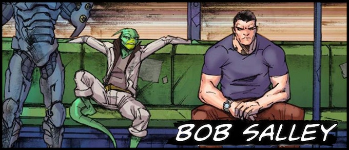 Writer Bob Salley (Salvagers. Shelter Division)