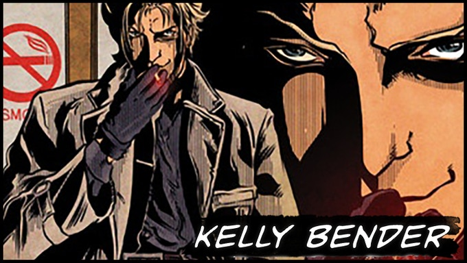 Writer Kelly Bender (Snarl. Cyberforce: Artifacts)